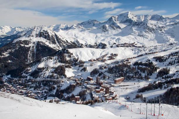 Station de ski La Plagne, en Savoie