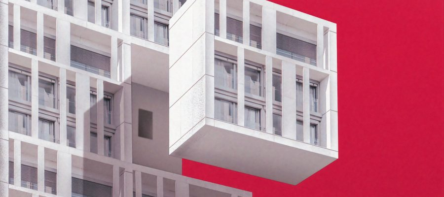 Immeuble d'habitation futuriste