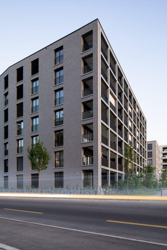 immeuble d'habitation moderne